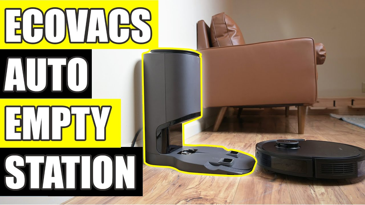 Ecovacs Auto Empty Station For Deebot T8 AIVI Robot Vacuum REVIEW