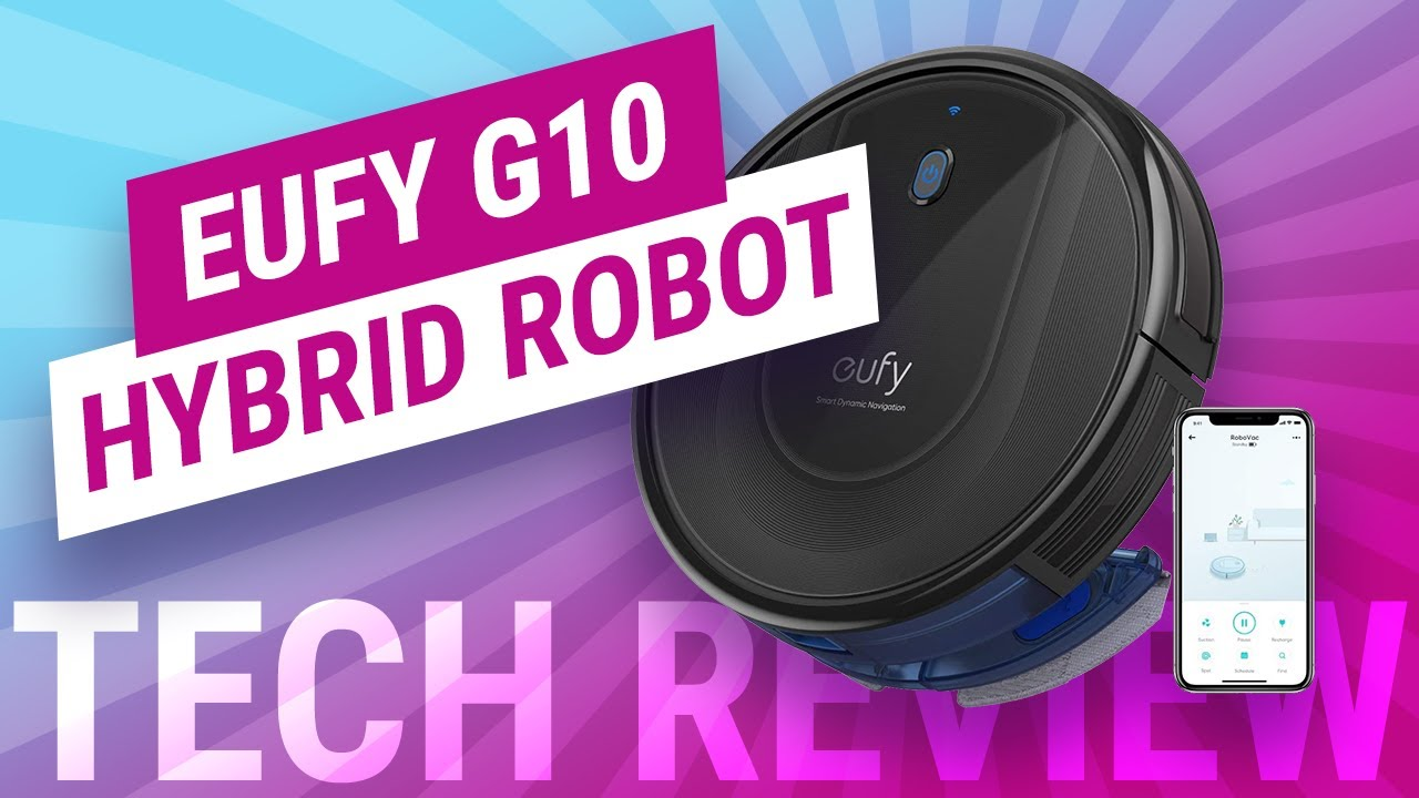Eufy RoboVac G10 Hybrid Robot Vacuum and Mop Review