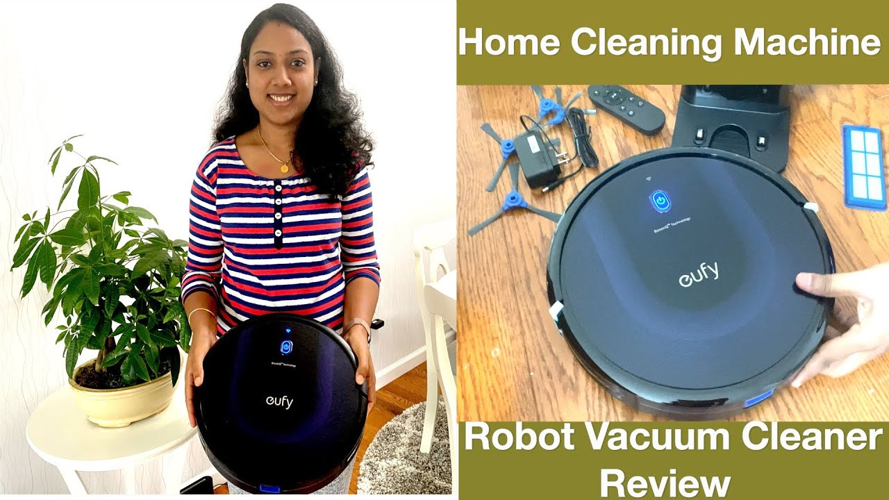 Robot Vacuum Cleaner Review | Review With Bloopers | Amazon Unboxing - Robot | Eufy Vacuum Cleaner