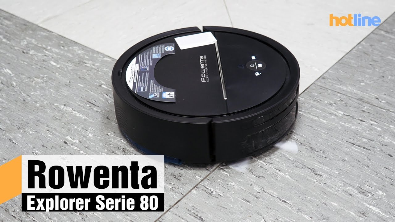 Rowenta Explorer Serie 80 — обзор умного пылесоса