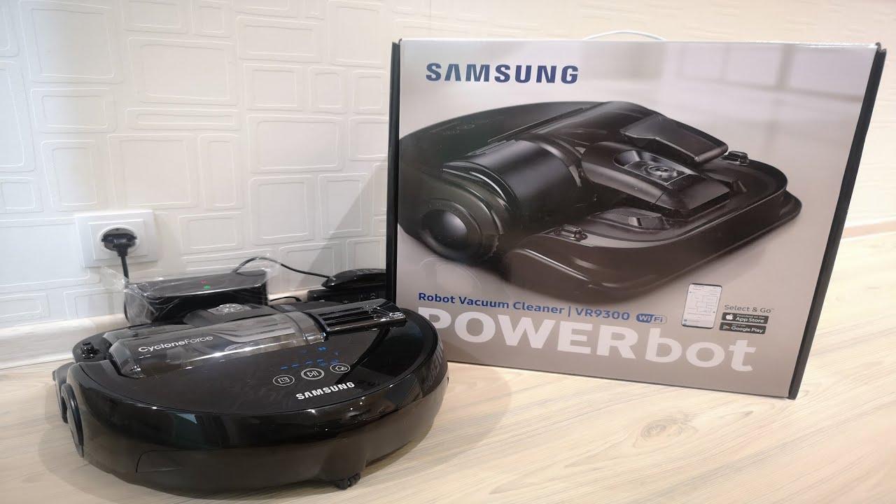 Робот пылесос PowerBot от Samsung.