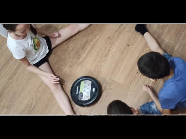 Наш первый робот-пылесос REDMOND RV-R350