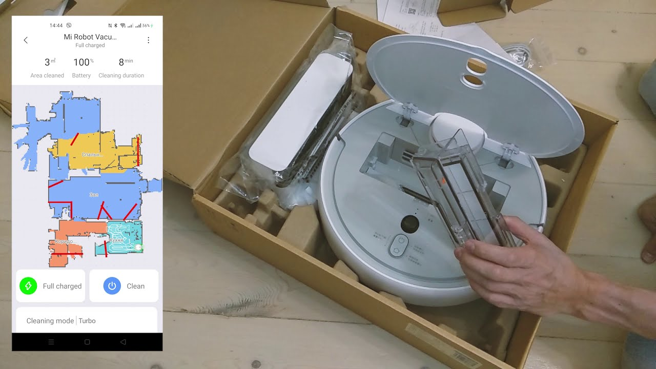 Робот пылесос Xiaomi Mi Robot Vacuum Cleaner 1S Xiaomi MiJia 1S