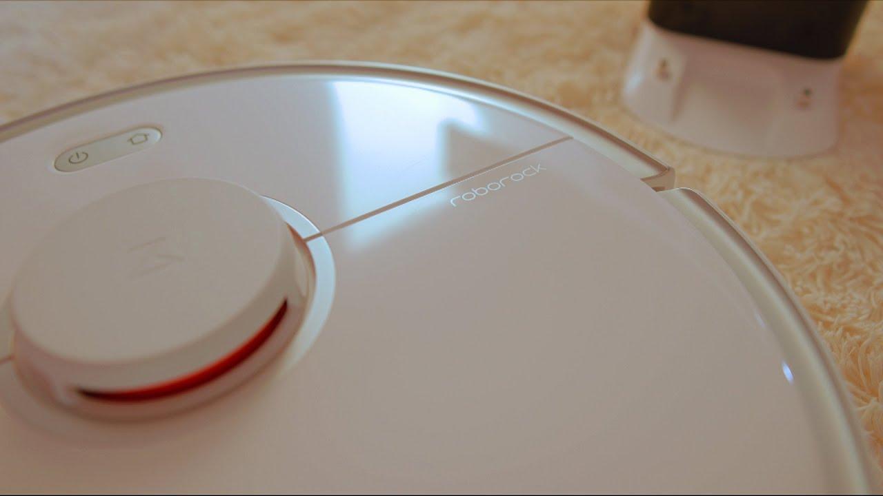 Робот пылесос Xiaomi Roborock S5 Max Сяоми Роборок С5 Макс Сухая и влажная уборка