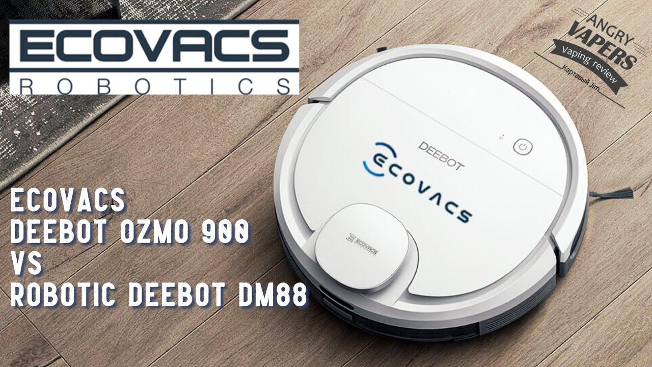 Тест-Драйв Робот Пылесос ECOVACS DEEBOT OZMO 900