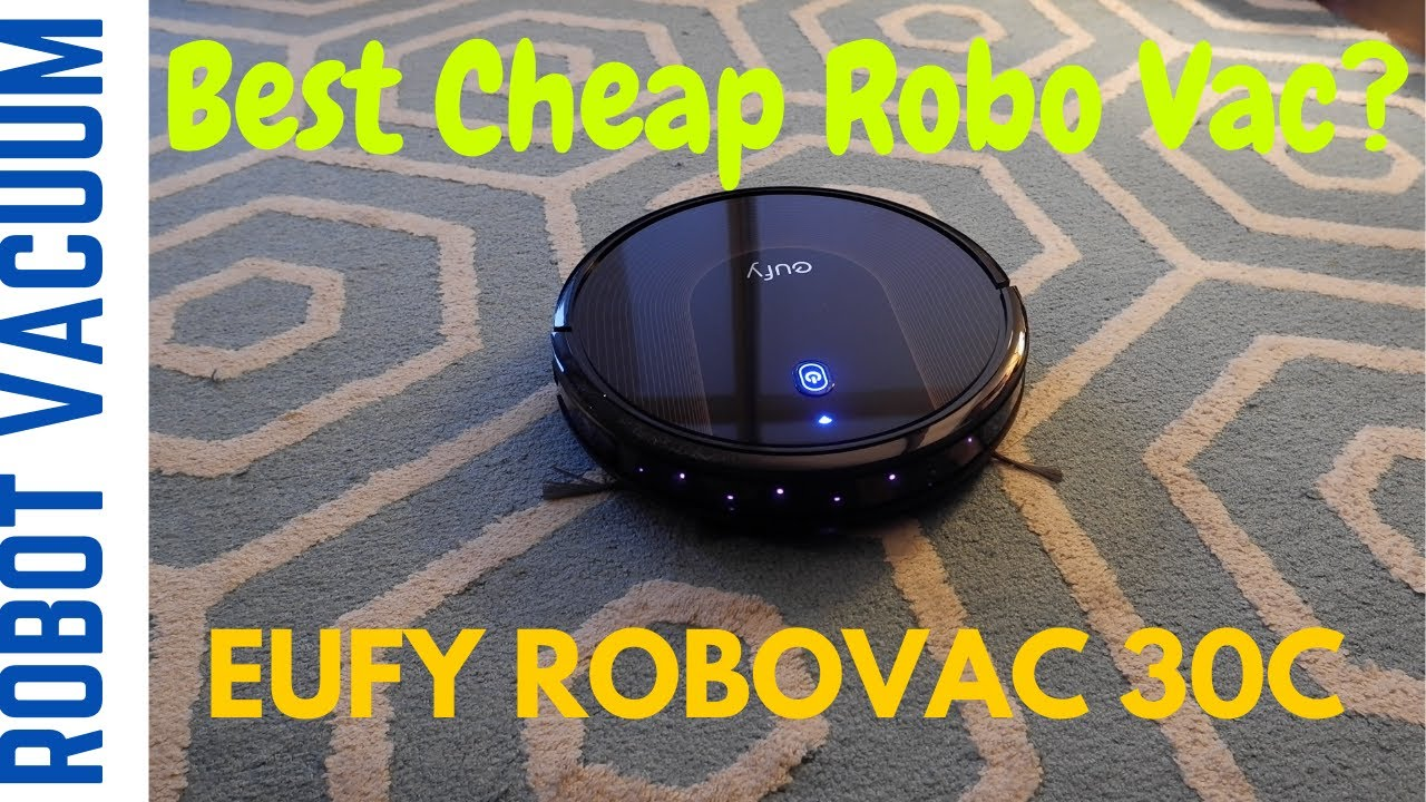 Eufy BoostIQ RoboVac 30C Robot Vacuum Cleaner | Non-Affiliated Unboxing Review