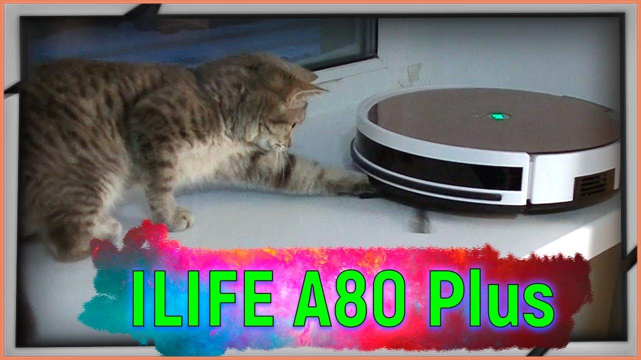 Обзор робота пылесоса ILIFE A80 Plus с Алиэкспресс