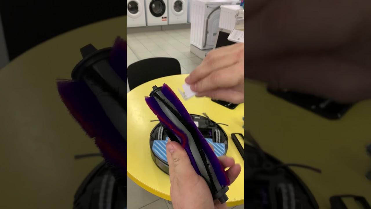 Обзор, распаковка. Робот-пылесос моющий Samsung VR05R5050.