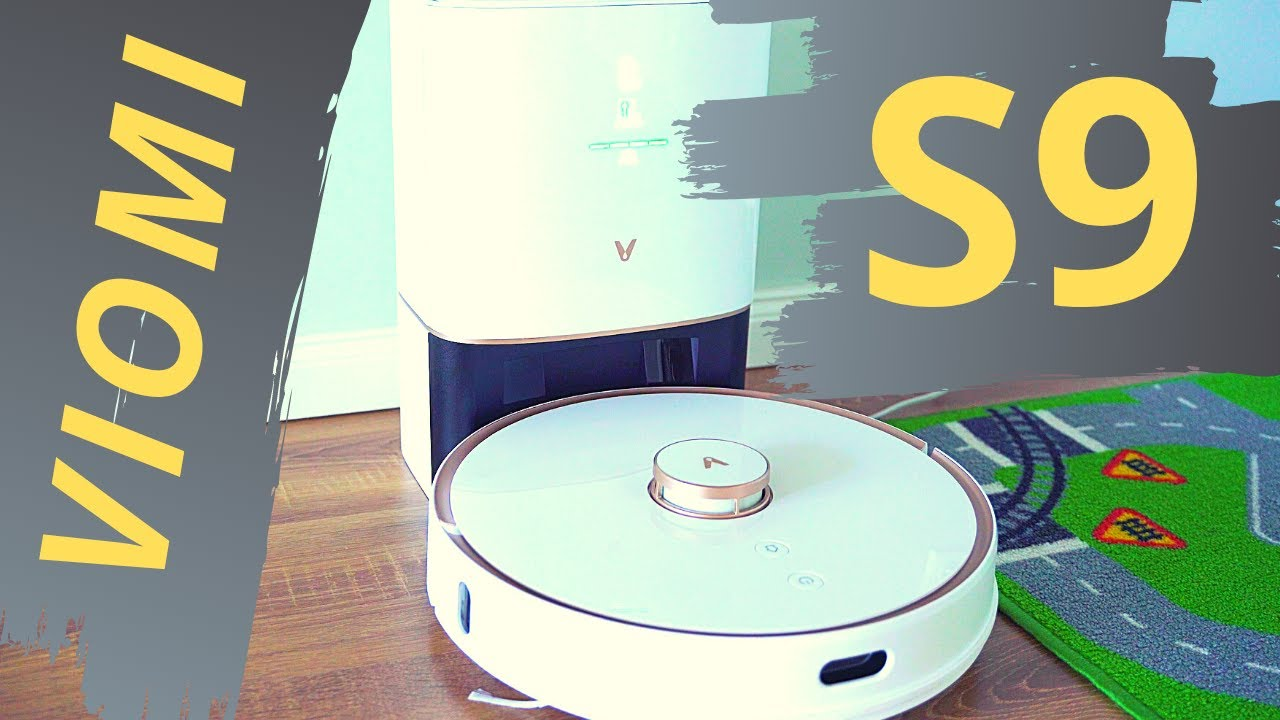 Xiaomi Viomi S9 Robot Vacuum: Super Smart Self-Emptying