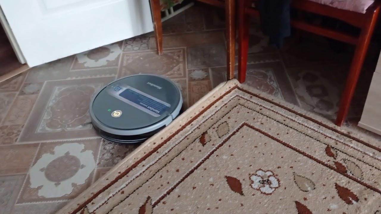 робот пылесос заблудился, не может найти свой дом