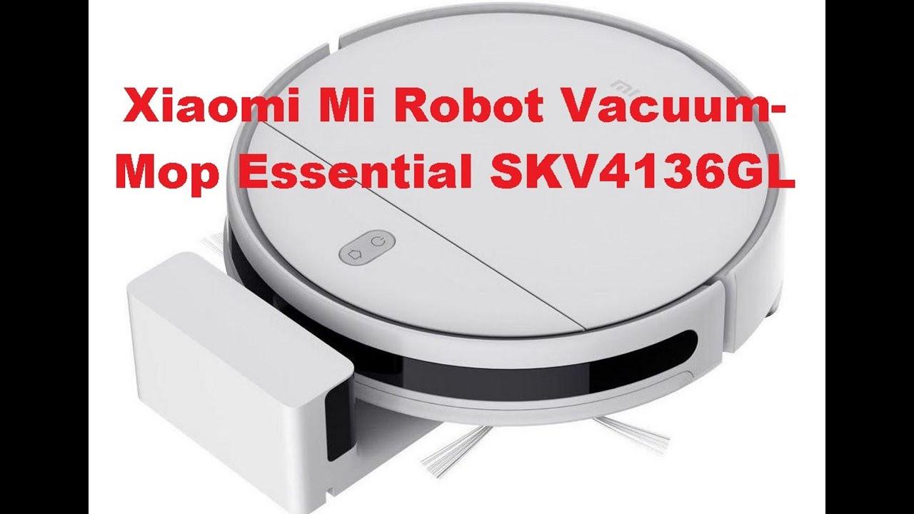 Купили пылесос-робот Xiaomi Mi Robot Vacuum- Mop Essential SKV4136GL