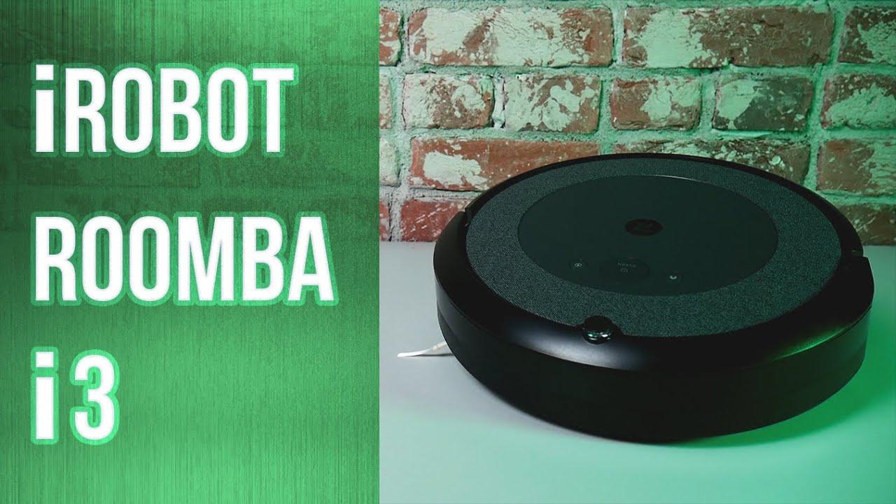 Обзор робота-пылесоса iRobot Roomba i3