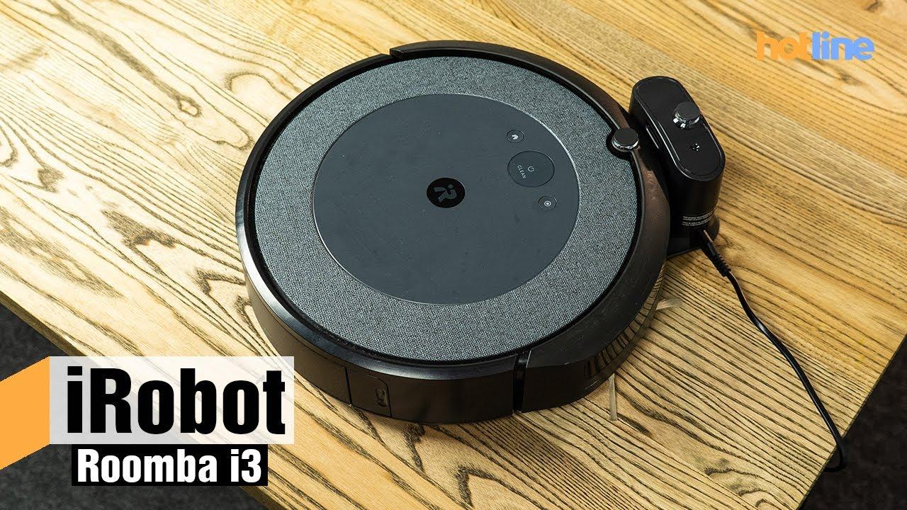 Roomba i3 — обзор робота-пылесоса от iRobot