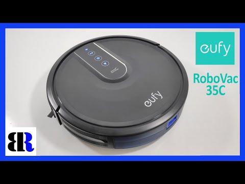 Eufy RoboVac 35C Robot Vacuum Cleaner Unboxing + Set Up