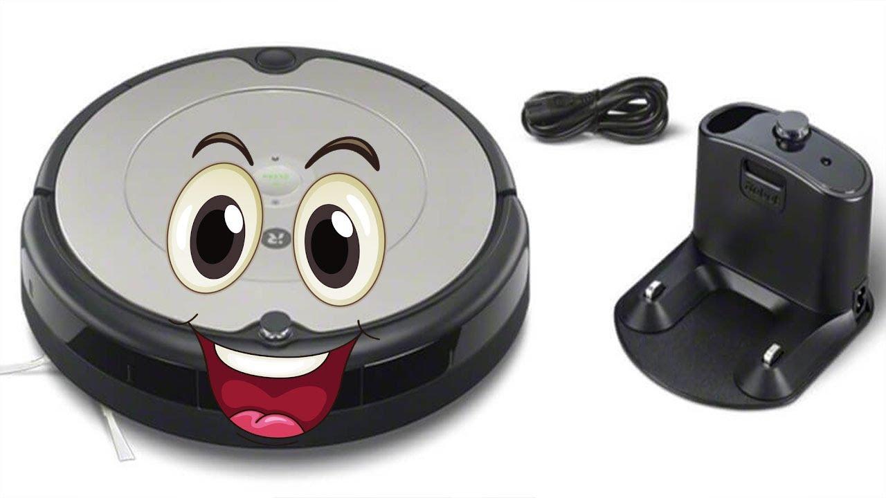 ЛУЧШИЙ малыш 👍 iRobot Roomba 698 Робот-пылесос.