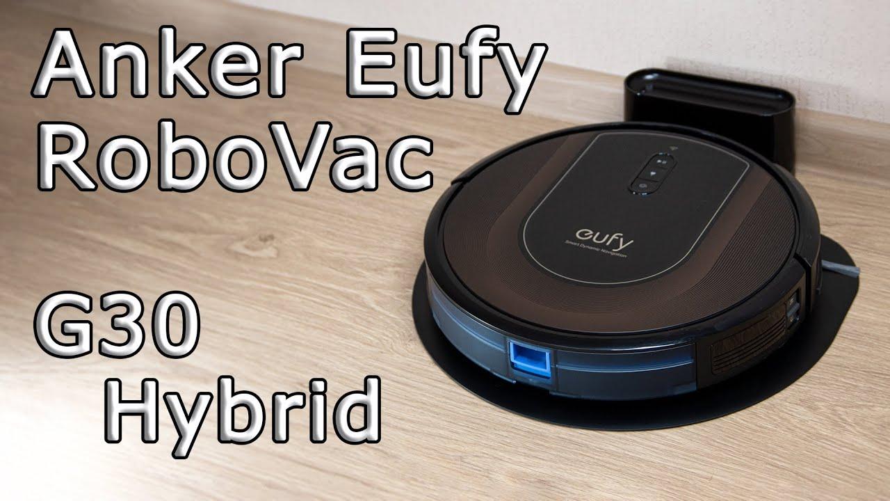 УМНЫЙ ПЫЛЕСОС Anker Eufy Robovac g30 hybrid ПРОДУМАННЫЙ ТОП🔥