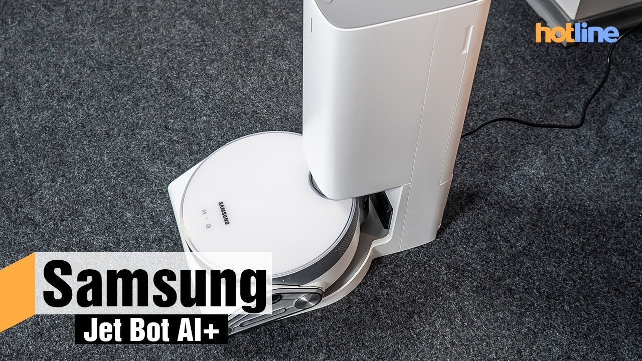 Samsung Jet Bot AI+ VR50T95735WEV — обзор робота-пылесоса