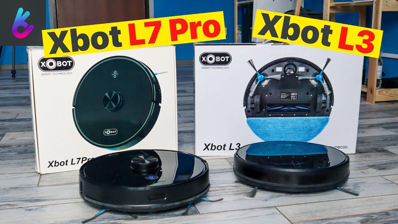 Xbot L3 сравнение с L7 Pro | Практический тест роботов + Скидка от меня