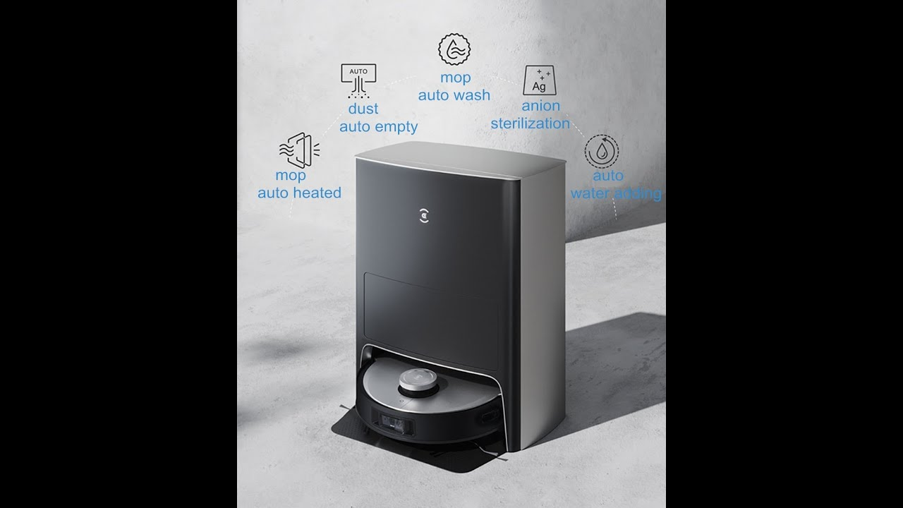 Робот-пылесос Ecovacs X1 OMNI sweeping and mopping Robot Vacuum Cleaner