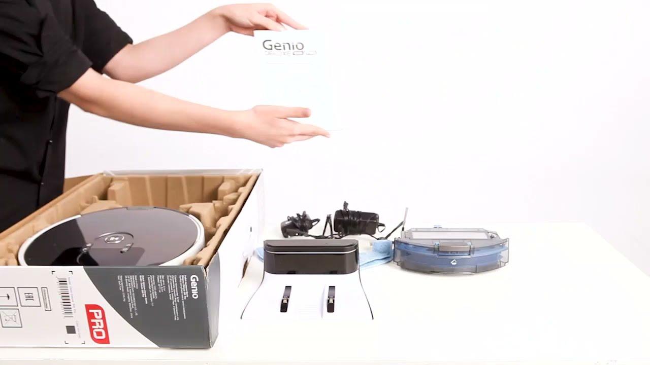Видеообзор робот-пылесос Genio Pro